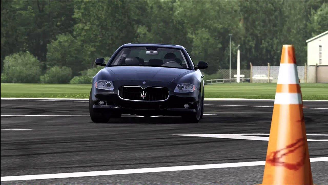 Maserati quattroporte top gear
