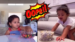 ALAIA VS STORMI DONT EAT THE CANDY CHALLENGE! (ACE FAMILY & KYLIE JENNER)