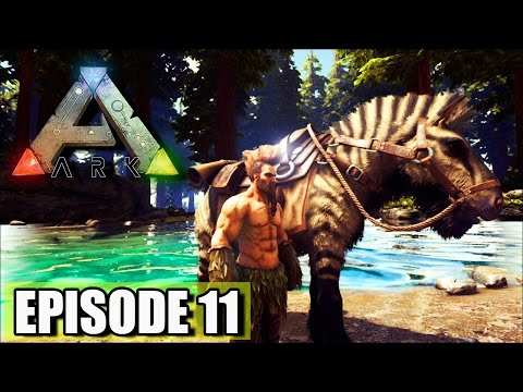 "NEW DINO! ""Ark Survival Evolved"" TAMING THE EQUUS (Horse)"