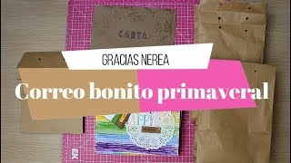 Correo Bonito Primaveral de Nerea | Mini album y chuches!!!