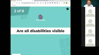 Accessibility Hackathon 2020: Daniel Dominey on Social Model of Disability