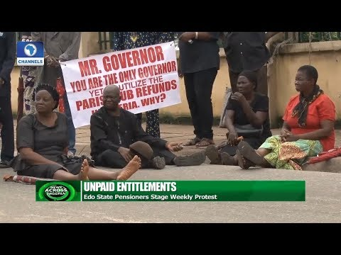 Edo State Pensioners Stage Weekly Protest |News Across Nigeria|