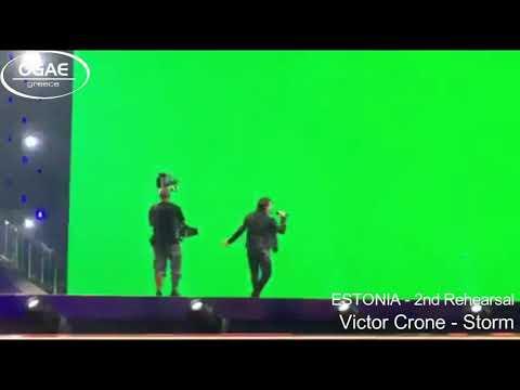 ESTONIA 2019 - Victor Crone - Storm- 2nd Rehearsal