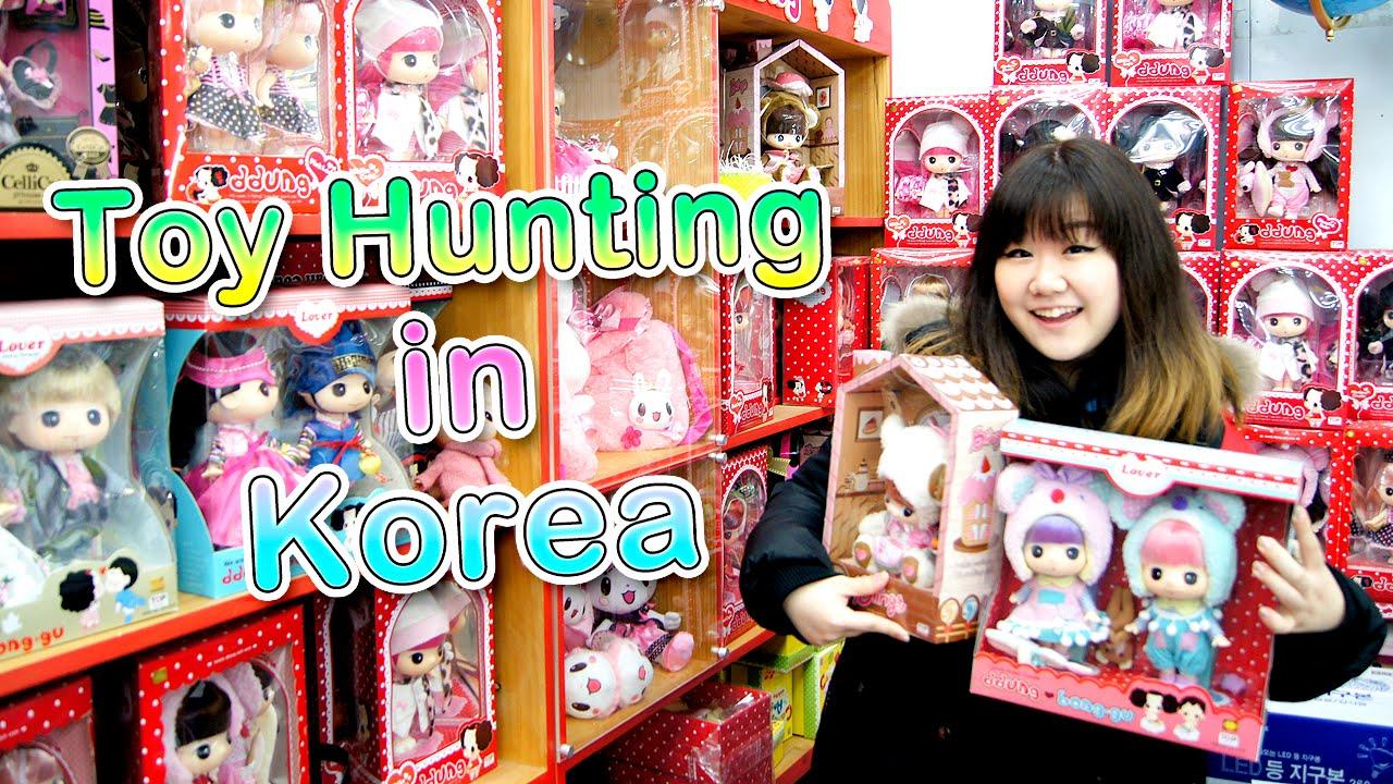 Toy Hunting In Korea Dongdaemun Toy Wholesale Market Cute
