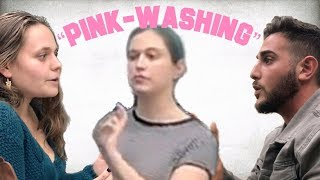 "Anti-Israel Students Guilt of ""Pink-Washing"" at Columbia University"