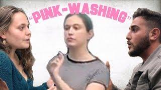 "Anti-Israel Students Guilt of ""Pink-Washing"" at Columbia University"