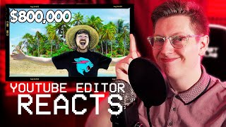 HOW TO MAKE A MR BEAST VIDEO -  Editor Reacts