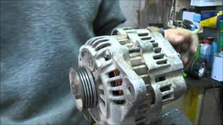 Ремонт генератора форд транзит (мітсубісі)