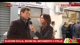 Elezioni Sicilia, boom del Movimento 5 Stelle