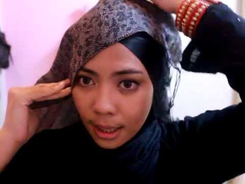 Tutorial shawl Silang cara Farhah Azman | Doovi