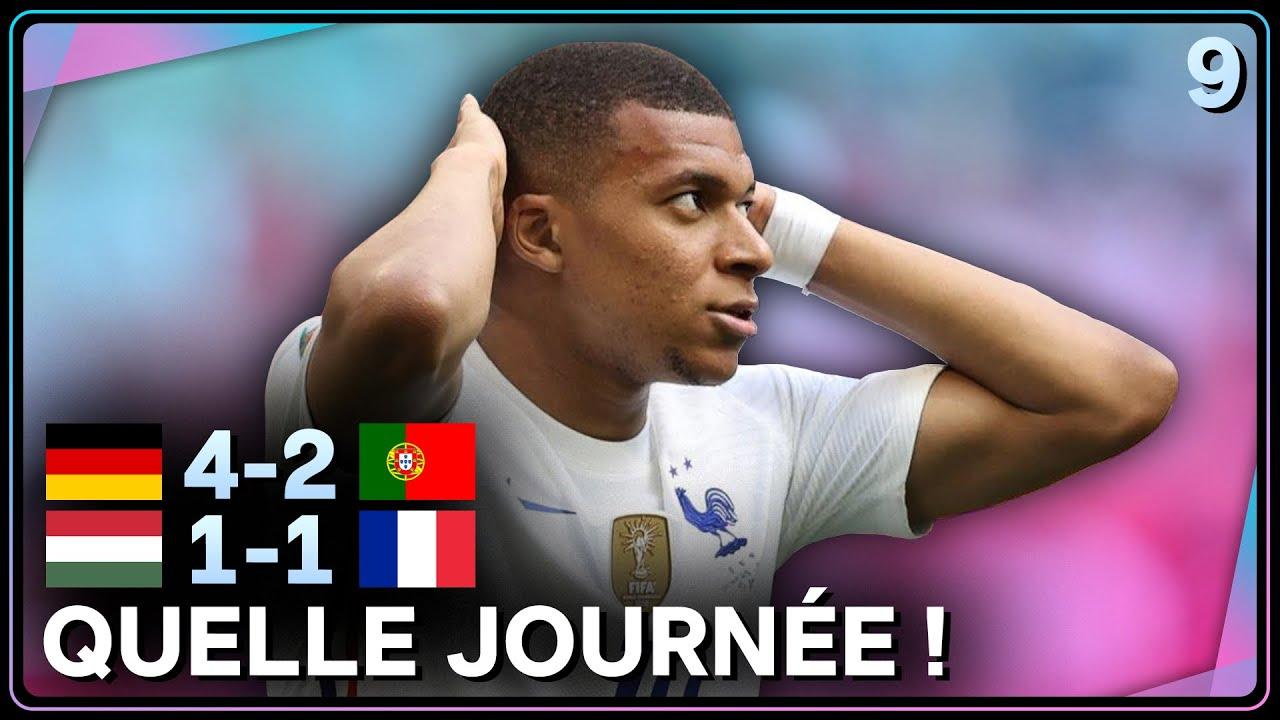 Download 🇫🇷 La France déçoit, 🇩🇪 l'Allemagne détonne ! (France 1–1 Hongrie + Allemagne 4–2 Portugal)
