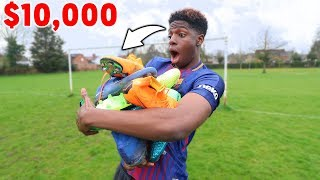 UNBOXING EXPENSIVE $10,000 FOOTBALL BOOTS COLLECTION!!