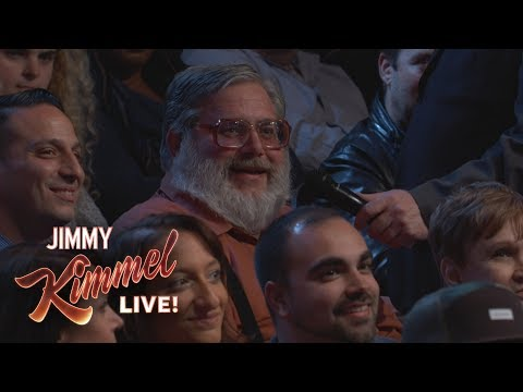 Download Youtube: Behind the Scenes with Jimmy Kimmel and Audience (Yankees Thumbs Down Guy)