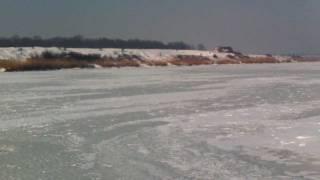 Lacul Cernica. Inghetat bocna. 31 ian 2012