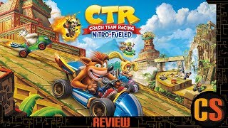 CRASH TEAM RACING NITRO-FUELED - PS4 REVIEW (Video Game Video Review)