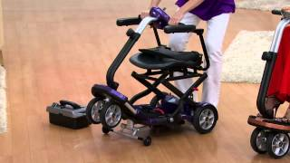 EV Rider Folding Mobility Scooter with Arm Rests with Stacey Stauffer