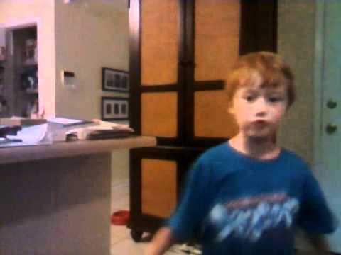 6 year old sings dream by taylor lautner