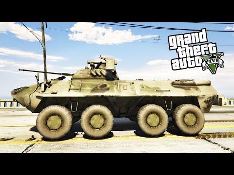 GTA 5 MOD : BTR-90 (Россия)