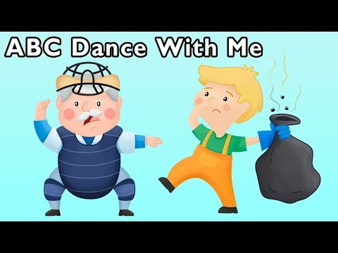 ABC Dance With Me and More  BACK TO SCHOOL ABC RHYMES  Ba Songs from Mother Goose Club!