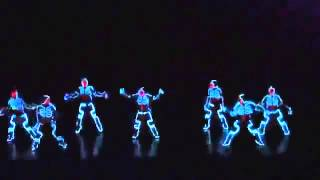 El mejor baile de robot del mundo
