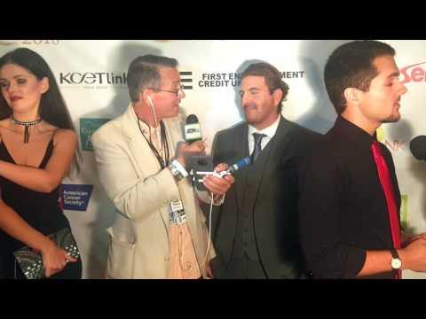 Rokki James / red carpet behind the scenes - 8th Annual Burbank Film Festival
