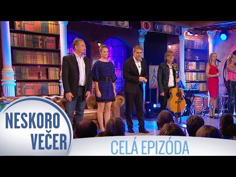 Miro Žbirka, Gabika Marcinková a Pavel Malovič v Neskoro Večer - CELÁ EPIZÓDA