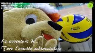 04-10-2015: Le avventure di Tore l'orsetto schiacciatore .. Castellana-Alessano