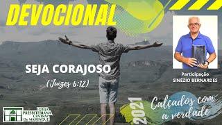 Devocional | SEJA CORAJOSO | 30/09/2021