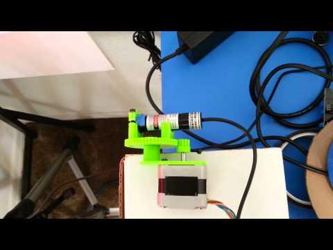 Motorized Laser Line Pointer