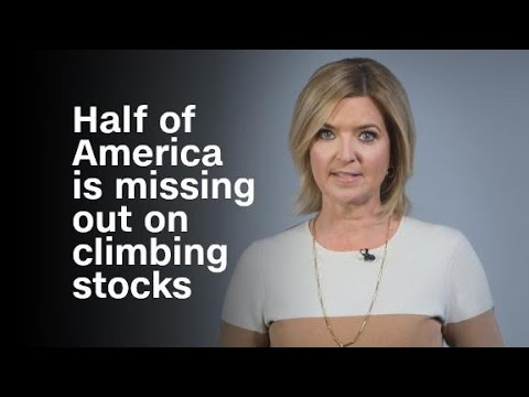 Why half of America is missing out on the stock market...