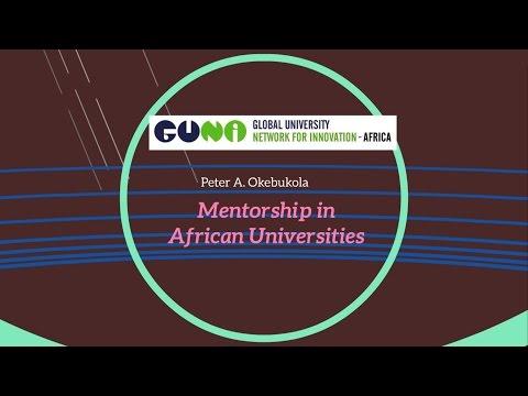 Mentorship in African Universities by Peter A. Okebukola