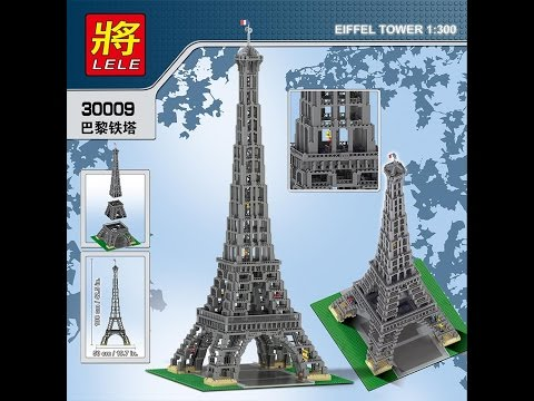 Unboxing Video Lego Eiffel Tower 3803pcs Youtube