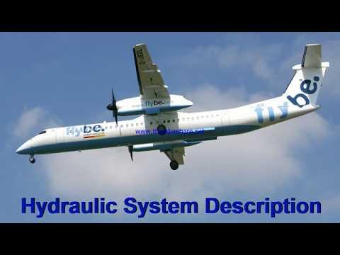 Hydraulic System Descrption Of Dash 8 Q400
