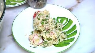 Cheese, Onion, Peas, Celery, Vinegar & Ham Salad : Cooking With Ham