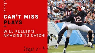 Will Fuller's AMAZING 4th-Quarter TD Grab!