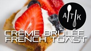 Amoretti Creme Brulee French Toast