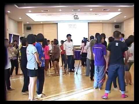 มูลนิธิสยามกัมมาจล:แบ่งกลุ่มทำความรู้จัก กิจกรรมถอดบทเรียนแกนนำเยาวชนทีมนักถักทอชุมชน14/25