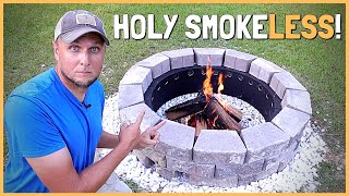 How To Build a DÏY Smokeless Fire Pit That Really Works!