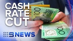 Reserve Bank cuts cash rate second month in a row to 1% | Nine News Australia