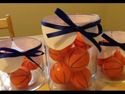 Wedding Basketball Decoration