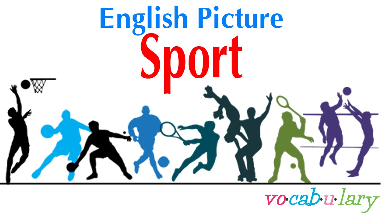 english picture lesson 21 name of sport youtube. Black Bedroom Furniture Sets. Home Design Ideas
