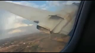 VIDEO: Final moments of fatal plane crash caught on camera by passenger
