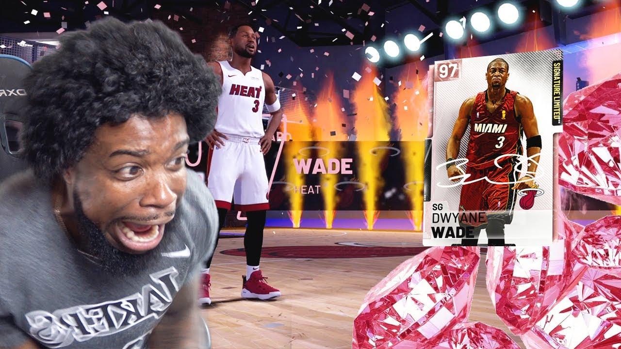 I PULLED PINK DIAMOND DWAYNE WADE! Wade Vs Lebron! NBA 2k19 MyTeam - YouTube