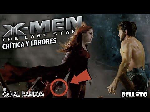 Errores de películas X Men 3 Crítica y Review PQC WTF