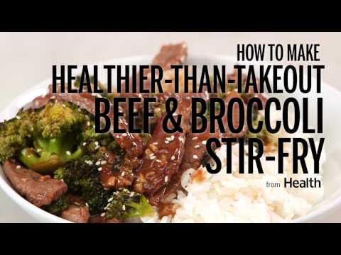How To Make Healthier-Than-Takeout Beef & Broccoli Stir-Fry | Health