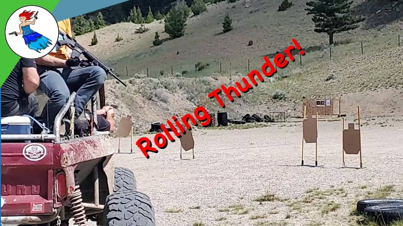 Rolling Thunder // A New Look At 2 Man Competition Shooting