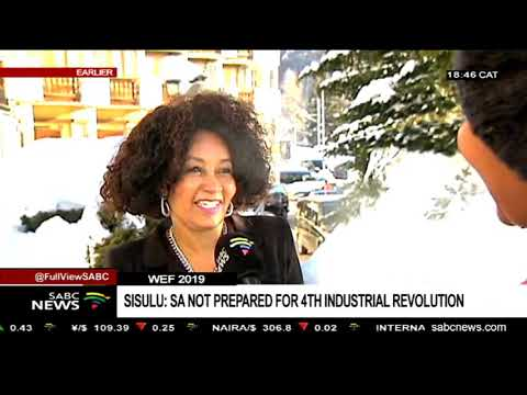 SA not prepared for the 4th industrial revolution: Lindiwe Sisulu
