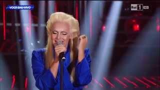 """Anna Oxa - Valerio Scanu canta """"Quando nasce un amore"""" - Tale e Quale Show 19/09/2014"""