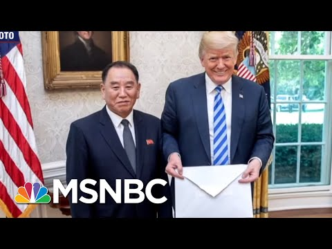 White House: 'No Surprises' In Letter From Kim Jong-Un | Hardball | MSNBC