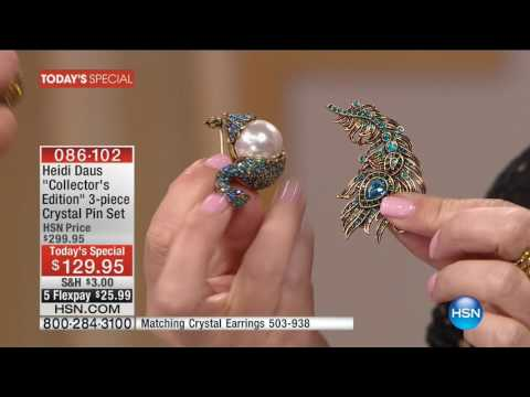 HSN | Heidi Daus Fashion Jewelry Anniversary 09.12.2016 - 09 PM